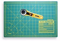 Mat and rotary cutter