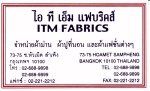 ITM Fabrics