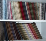 Fat quarters in a range of solids and prints
