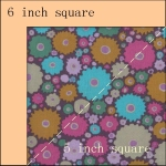 makes a 6 inch square