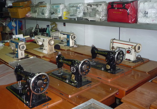 Used Sewing Machines In Bangkok Jill's Quilt Site Simple Second Sewing Machine