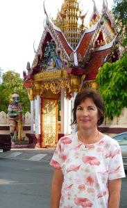 Jill C. quilter in Bangkok