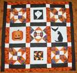 Halloween Quilt by Jill
