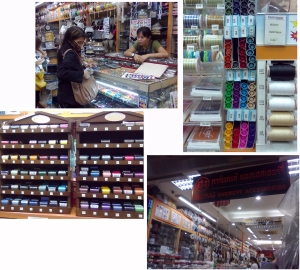 Hong Garment Accessories shop at Sampeng Lane