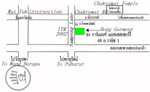 Map to Hong Garment Accessories at Sampeng Lane