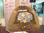 3D Flower basket bag By Suthida Chantamalee from Home of Quilt Studio