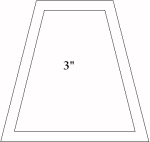 3 inch tumbler template