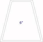 6 inch tumbler template