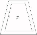 2 inch tumbler template