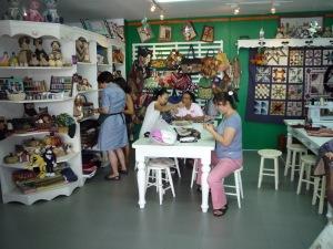 Pretty Quilt shop