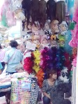 wigs, animal hats