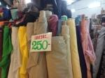 Linen for 250 baht per meter