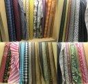 The printed silks are 500 baht per meter ($15 a yard).